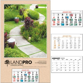 Mount with Grid Calendar (2017)