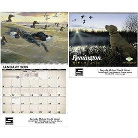 Remington Sporting Dogs Wall Calendar for your School
