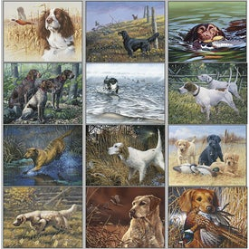 Monogrammed Remington Sporting Dogs Wall Calendar