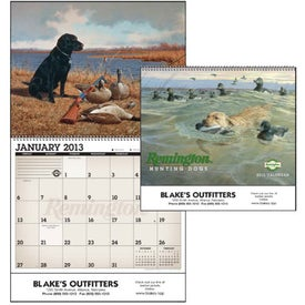 Remington Sporting Dogs Wall Calendar
