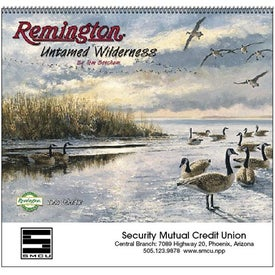 Advertising Remington Untamed Wilderness Appointment Calendar