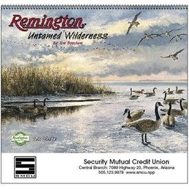 Advertising Remington Untamed Wilderness Appointment Calendar