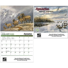 Remington Untamed Wilderness Appointment Calendar for Your Church