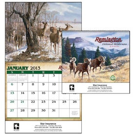 Remington Untamed Wilderness Appointment Calendar (2014)