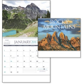 Rocky Mountains Appointment Calendar Branded with Your Logo