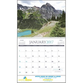 Printed Rocky Mountains Appointment Calendar