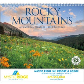 Rocky Mountains Appointment Calendar (2017)
