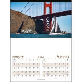 Imprinted Sailing Executive Calendar