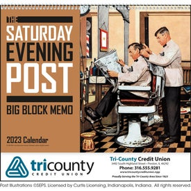 Saturday Evening Post Big Block Calendar (2021)