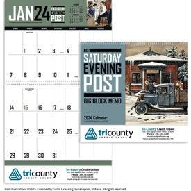 Saturday Evening Post Big Block Calendar (2017)