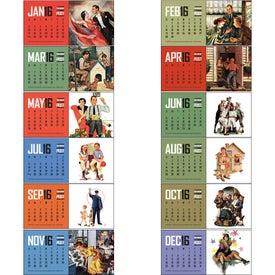 Imprinted The Saturday Evening Post Calendar
