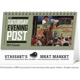 "The Saturday Evening Post Calendar (2020, 6"" x 4.5"")"