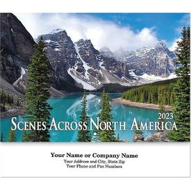 Scenes Across America Stapled Wall Calendars (2022)