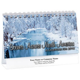 Scenes Across North America Desk Calendar
