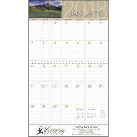 Scenes of America Big Block Memo Calendar Giveaways