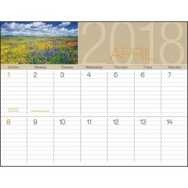 Company Scenes of America Big Block Memo Calendar