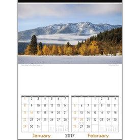 Promotional Scenes of America Executive Calendar