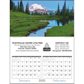Scenes of America Executive Calendar (2020)