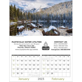 Advertising Scenes of America Executive Calendar
