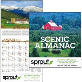 Customized Scenic Almanac Calendar