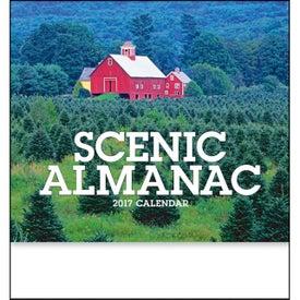 Scenic Almanac Calendar for Your Company