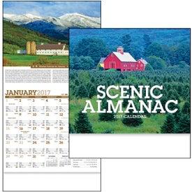 Branded Scenic Almanac Calendar