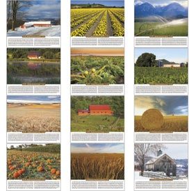 Personalized Scenic Almanac Calendar