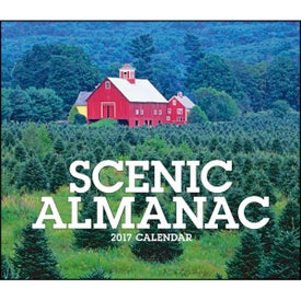 Scenic Almanac Calendar Imprinted with Your Logo