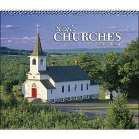 Scenic Churches Spiral Calendar for Your Church