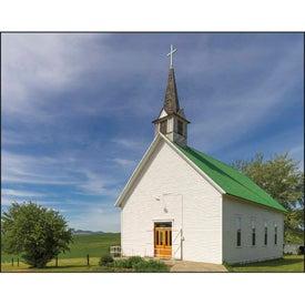 Scenic Churches Spiral Calendar for Customization