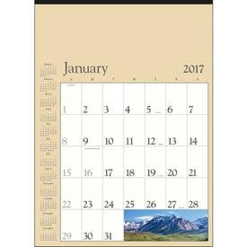 Personalized Scenic Contractor Calendar