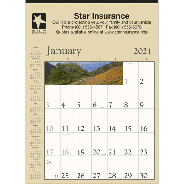 See Item Scenic Contractor Calendar