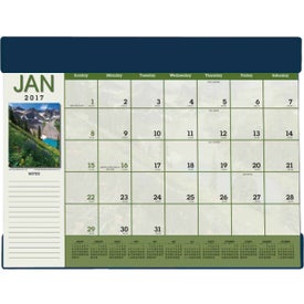 Scenic Desk Pad Calendar Giveaways