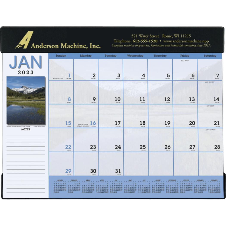 Scenic Desk Pad Calendar (2016)   Custom Calendars   6.51 Ea.
