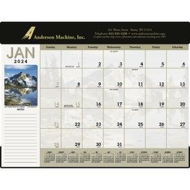 Scenic Desk Pad Calendar (2017)