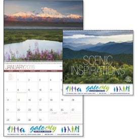 Scenic Inspirations Appointment Calendar with Your Logo