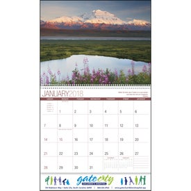 Imprinted Scenic Inspirations Appointment Calendar
