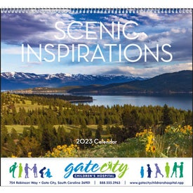 Scenic Inspirations Appointment Calendar for Your Church