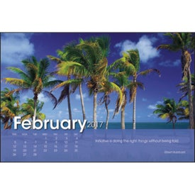 Logo Scenic Moments Large Desk Calendar