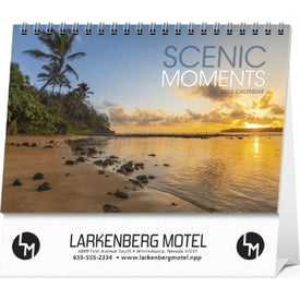 Scenic Moments Large Desk Calendar (2014)