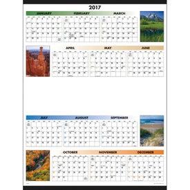 Company Scenic Span-A-Year Calendar