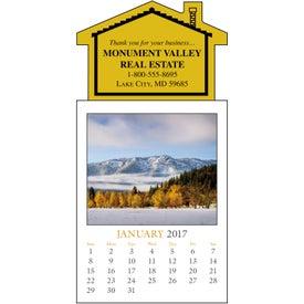 Scenic Stick Up Grid Calendar Giveaways