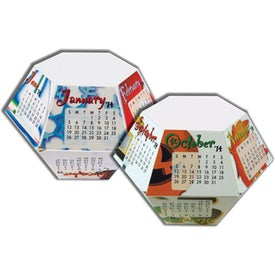 Personalized Celebrations Pop-Ups 12 Month Calendar