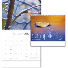 Customized Simplicity Appointment Calendar