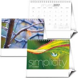 Logo Simplicity Large Desk Calendar