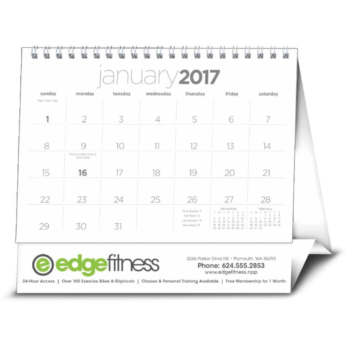 Calendar Large : Simplicity large desk calendar custom calendars