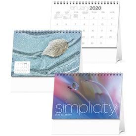 Simplicity Large Desk Calendar (2020)