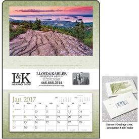 Custom Single Pocket Calendar