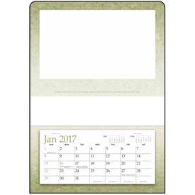 Single Pocket Calendar Printed with Your Logo