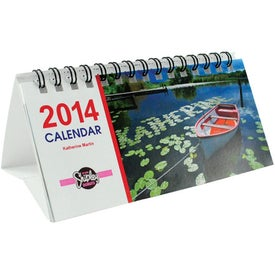 Small Desk Calendar Printed with Your Logo